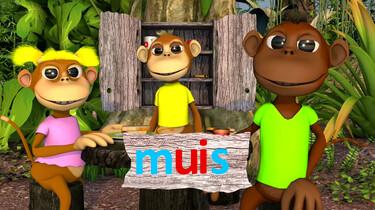 Letterjungle: De letter ui: muis
