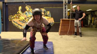 Hoe wordt een stunt voor een film of serie opgenomen?: Dikke matten en trucjes met touwen
