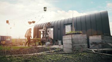 Duurzaam wonen in een superklein huis: Een kijkje in de ecowijk Minitopia