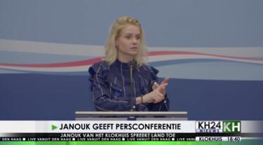 Het Klokhuis: Persconferentie