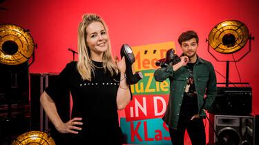 Méér Muziek in de Klas: Ierse stepdance leren met Chantal Janzen en Buddy Vedder