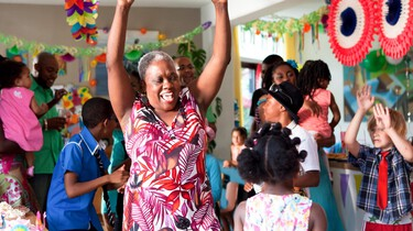Oma is gek!: Film in de klas