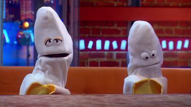 Bert en Bob zitten in alle bananenmoppen