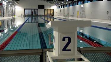 Het zwembad in
