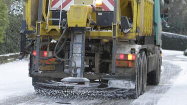 De strooiwagen: Schone wegen tijdens de winter