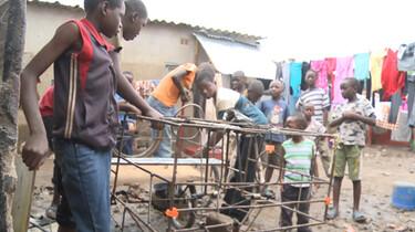 Leven in een sloppenwijk in Zambia