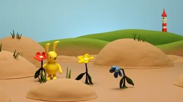 Konijntje en de bloemen