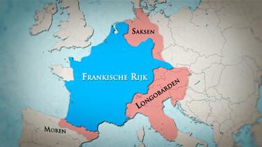 Karel de Grote en de Saksen