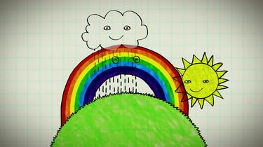 Clipphanger: Hoe ontstaat een regenboog?