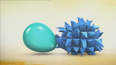 De egel en de ballon