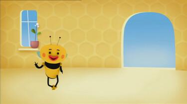 Bijen doen de kwispeldans