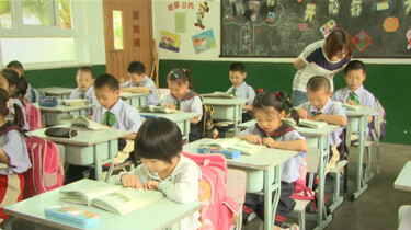 Naar school in China