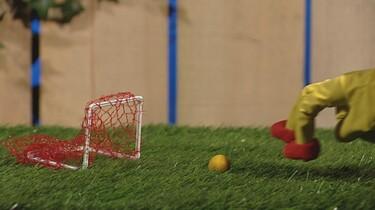 Vingervoetbal maken