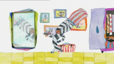 De zebra zonder strepen