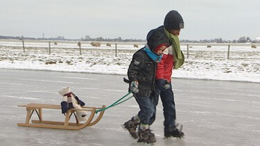 Buiten schaatsen