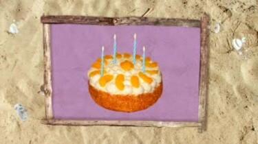 Kaarsjes op de taart