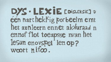 Clipphanger: Wat is dyslexie?