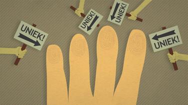 Clipphanger: Zijn vingerafdrukken uniek?