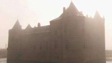 Op het kasteel