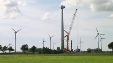 Hoe wordt een windturbine gebouwd?
