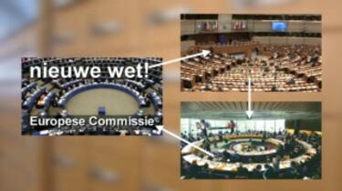Werken in het Europees parlement