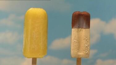 Roomijs en waterijs: Welk ijsje smelt het eerst?