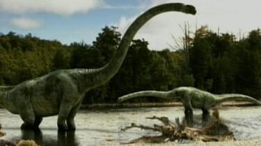 Dinosaurus op de vlucht
