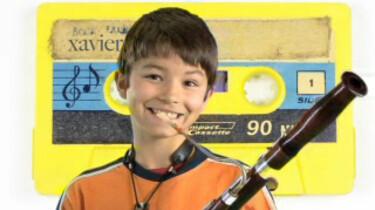 Xavier speelt fagotino