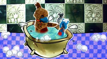 Zingen in bad