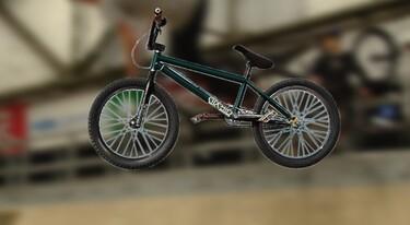 Een BMX-fiets