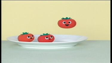 Tomaatjes op een bord