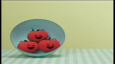 3 kleine tomaatjes