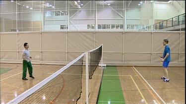 Badmintonnen doe je zo!