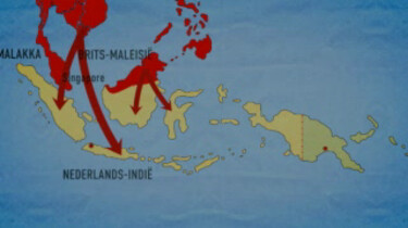 De oorlog in Nederlands-Indië