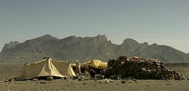 Mohamed woont in de woestijn
