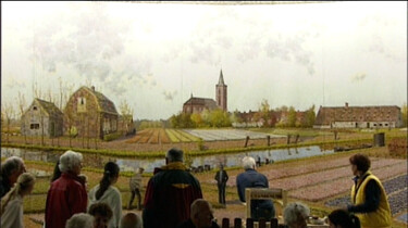 Panorama van de Bollenstreek