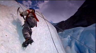 Een gletsjer beklimmen