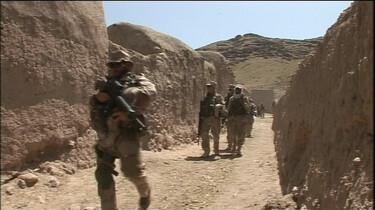 Op patrouille in Afghanistan