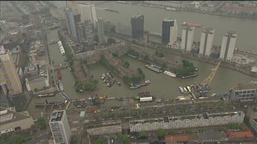 De groei van de Rotterdamse haven