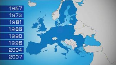 De groei van de Europese Unie