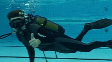 Zuurstof onder water