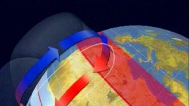 Luchtstromen op aarde