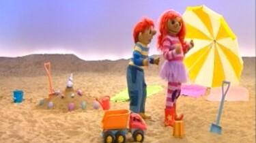 Toto en Sassa spelen