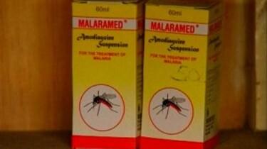 Malaria en geen medicijnen