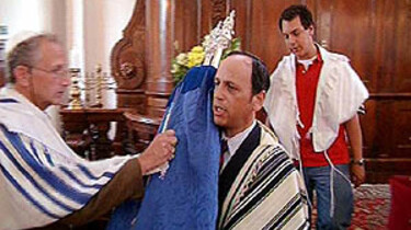 Joden in de synagoge