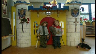 Prinses en ridder spelen