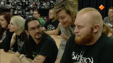 Het Klokhuis: Heavy metal school