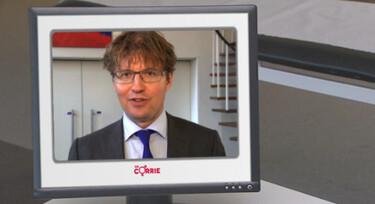 Dokter Corrie: Sander Dekker over zijn grote neus