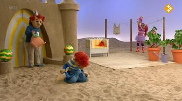 Het Zandkasteel: Kijk uit!
