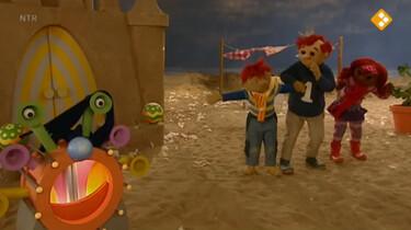Het Zandkasteel: Een warme sjaal